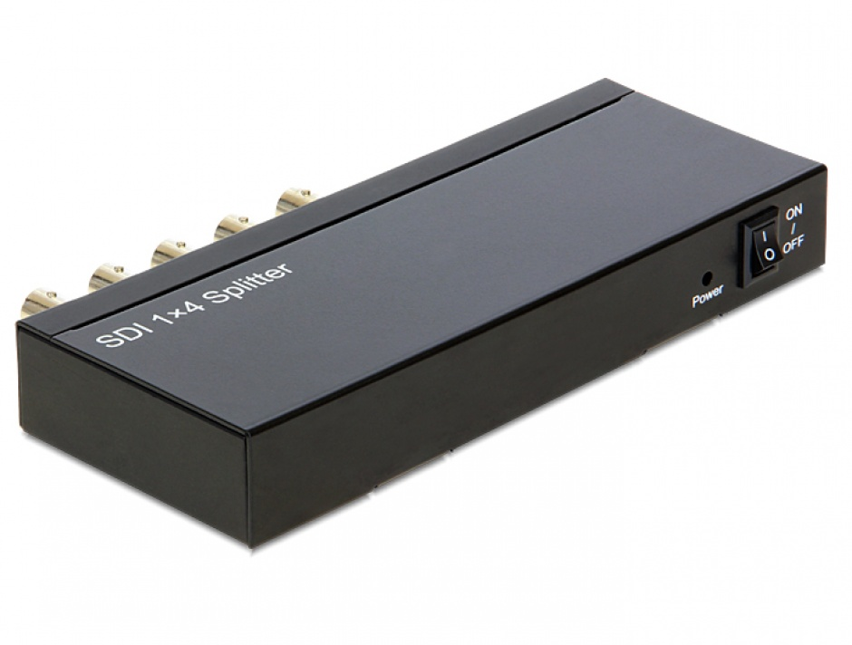 Imagine Multiplicator 4 porturi 3G-SDI, Delock 93250