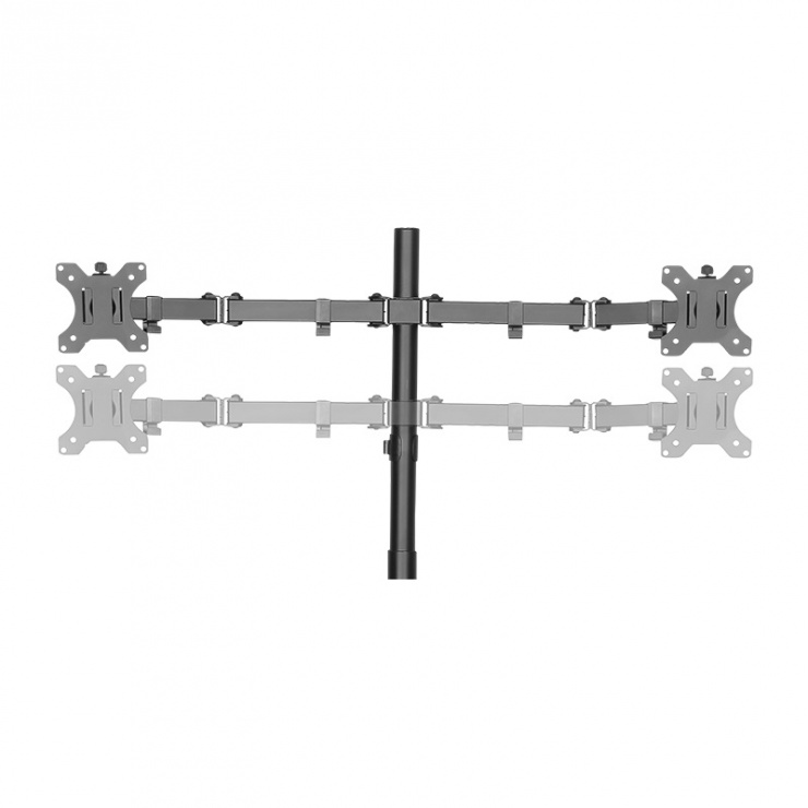 "Imagine Suport masa pentru 4 x monitoare max 32"", Logilink BP0046"