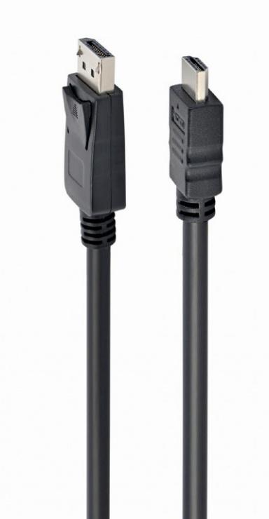 Imagine Cablu DisplayPort la HDMI T-T 1m, Gembird CC-DP-HDMI-1M