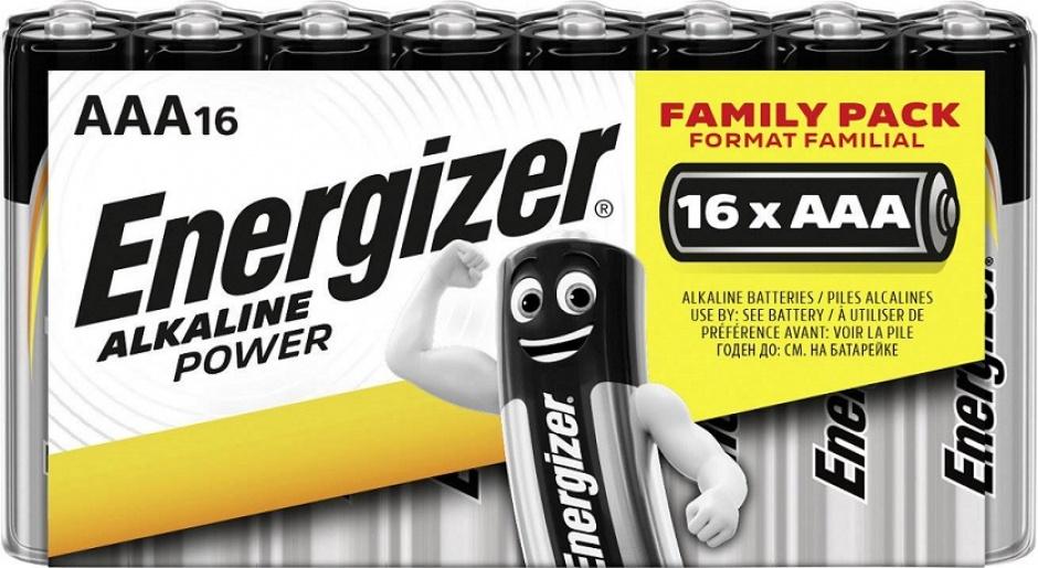 Imagine Set 16 buc baterii alkaline AAA, ENERGIZER