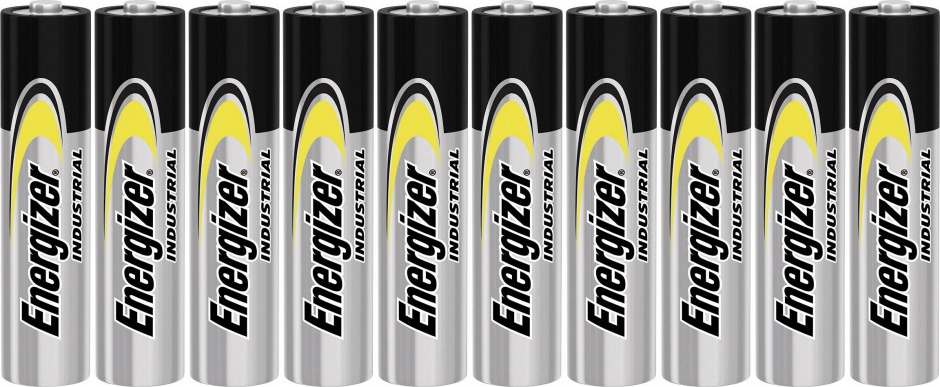 Imagine Set 10 buc baterii industriale AA, ENERGIZER