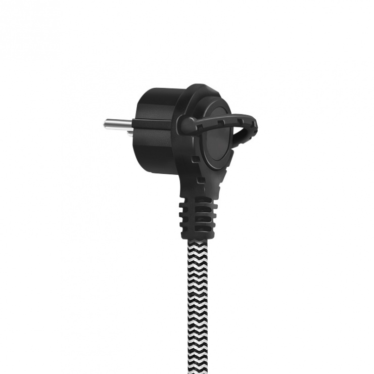Imagine Prelungitor cu 2 x Schuko + 3 x USB 1.5m, Logilink LPS262U