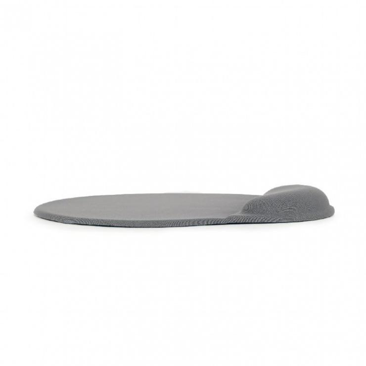 Imagine Mouse pad gel cu suport pentru incheietura mainii, Gembird MP-GEL-GR