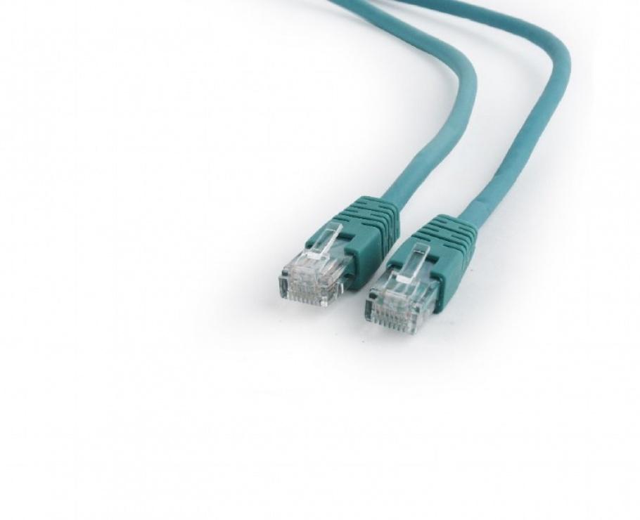 Imagine Cablu de retea RJ45 0.25m cat 6 UTP Verde, Gembird PP6U-0.25M/G