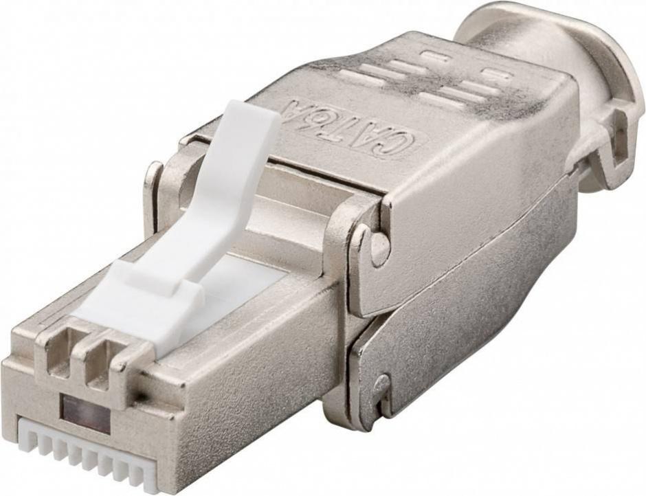 Imagine Conector de retea RJ45 cat 6A ecranat