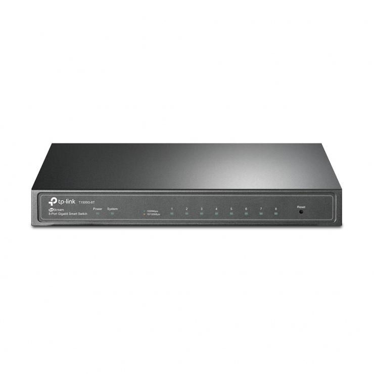 Imagine SWITCH WEB SMART 8 PORTURI 10/100/1000M, TP-Link T1500G-8T(TL-SG2008)