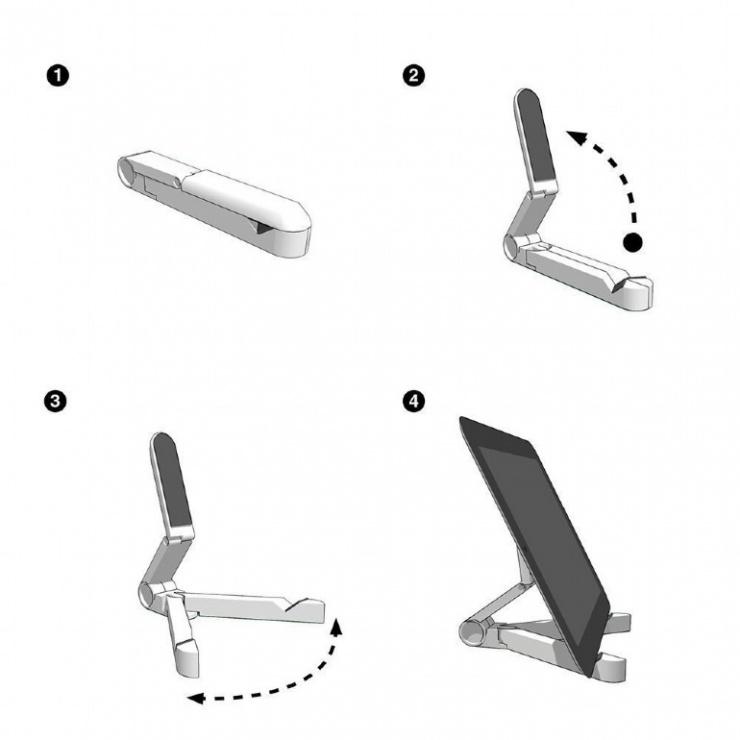 Imagine Suport universal pentru tableta Negru, Gembird TA-TS-01