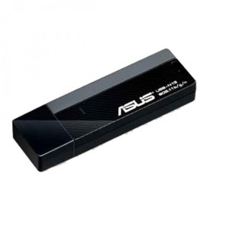 Imagine Placa de retea wireless USB 300Mb/s, ASUS USB-N13
