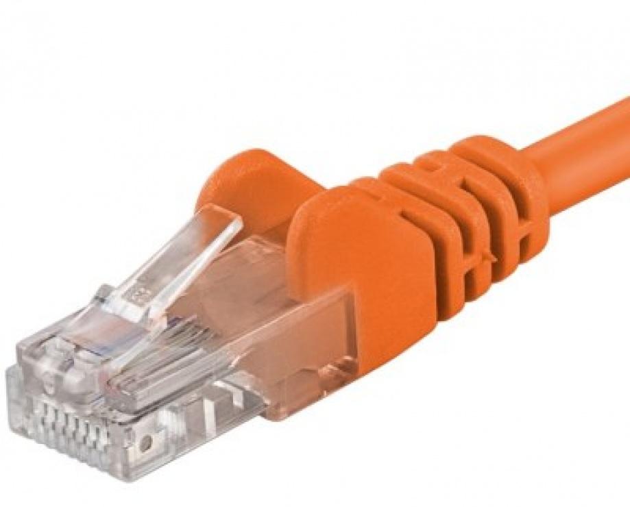 Imagine Cablu de retea UTP cat.6 3m orange