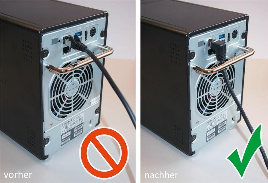 Imagine Cablu de retea cat 6A UTP cu 1 unghi 90 grade 0.25m Negru, Goobay G51527