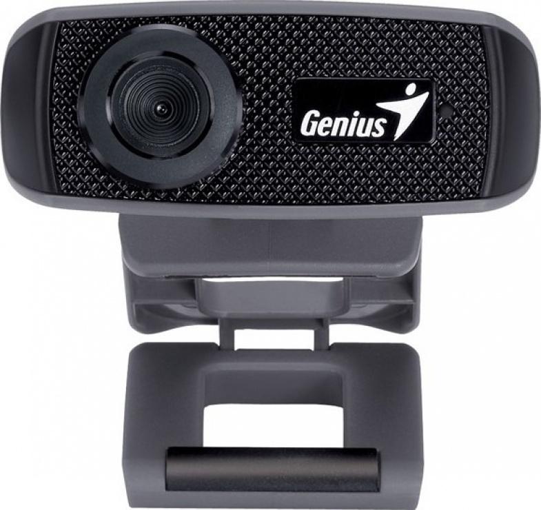 Imagine Camera web cu microfon FaceCam 1000X v2, Genius