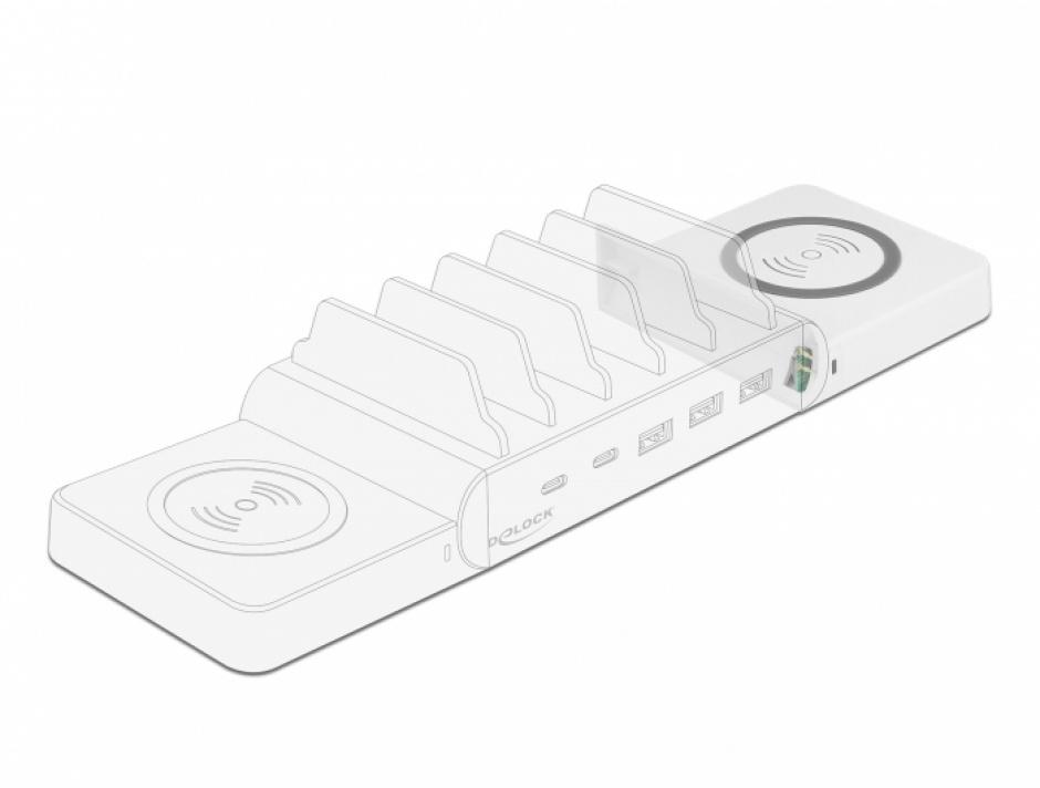 Imagine Incarcator wireless pentru Delock 41450, Delock 41451