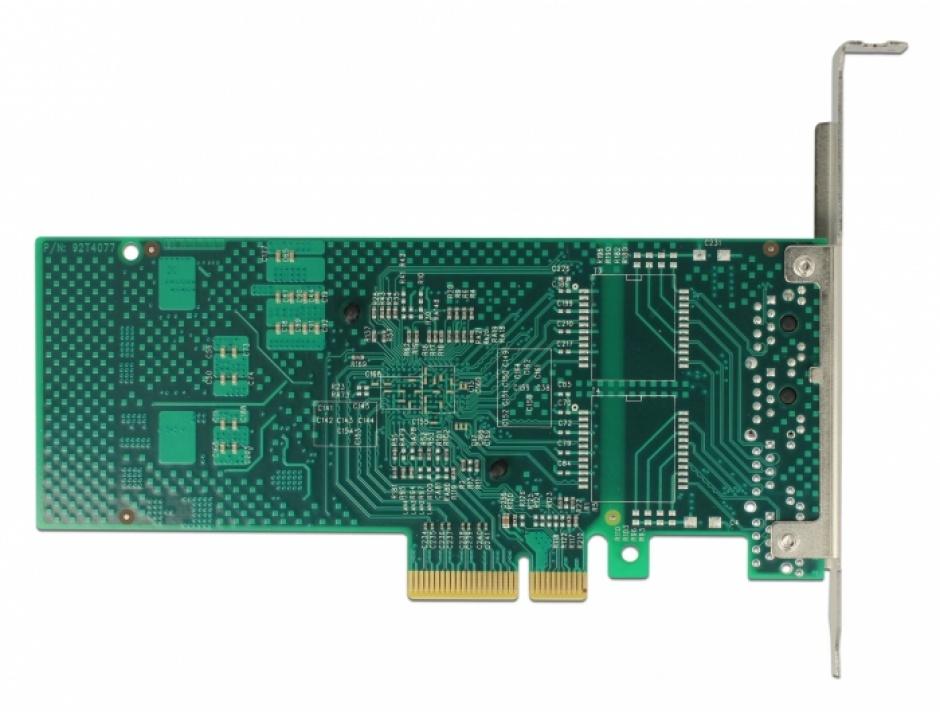 Imagine PCI Express la 2 x Gigabit LAN chipset Intel i350, Delock 89945