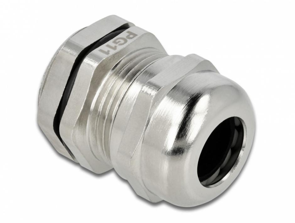 Imagine Garnitura de etansare a cablului PG11, Delock 60277