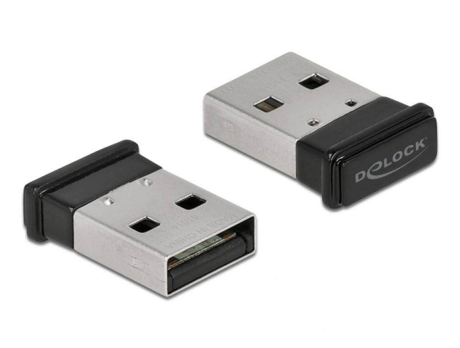 Imagine Adaptor USB Bluetooth 5.0 dual mode + EDR + BLE, Delock 61014