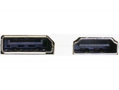 Imagine Adaptor mini Displayport la Displayport / HDMI / DVI 24 pini, Delock 61768-2