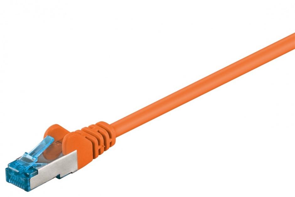 Imagine Cablu de retea RJ45 cat 6A SFTP 0.25m Portocaliu, sp6asftp002E