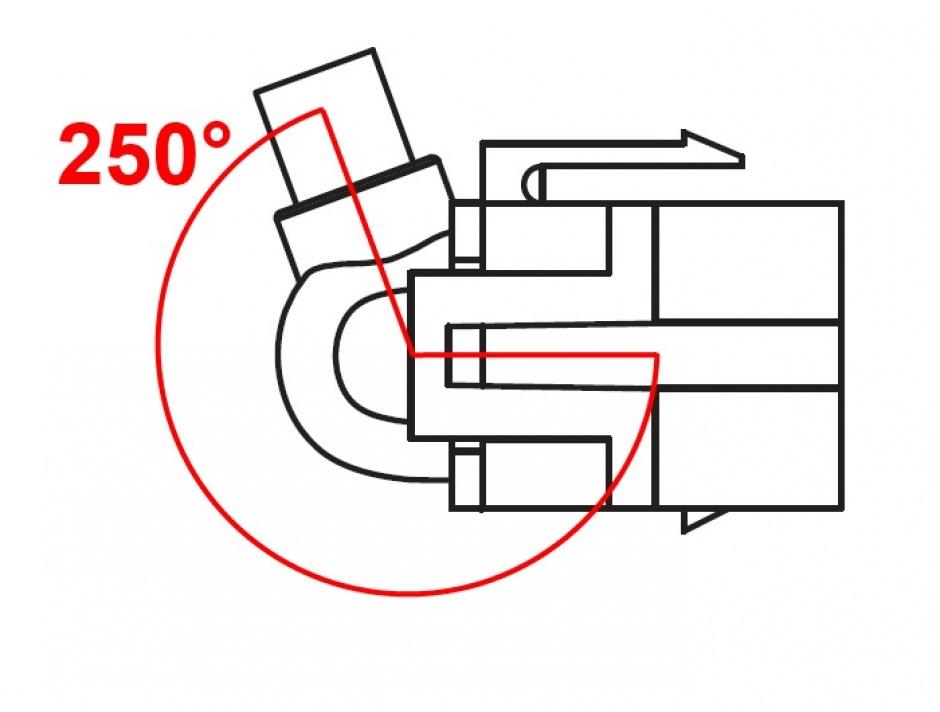 Imagine Modul keystone HDMI 4K30Hz 250 grade M-M 0.3m, Delock 86854