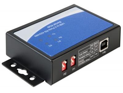 Imagine Adaptor USB la 2 x serial RS-422/485, Delock 87586-1