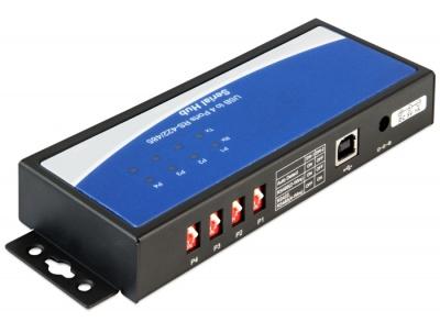 Imagine Adaptor USB la 4 x serial RS-422/485, Delock 87587-1