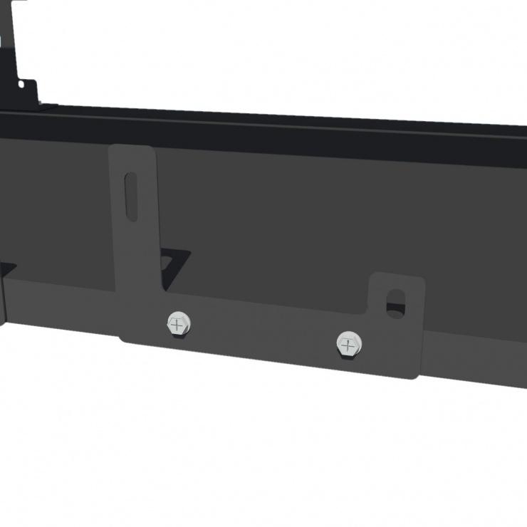 Imagine Suport pentru minat 8 GPU / 2 PSU rig Negru, AKM081