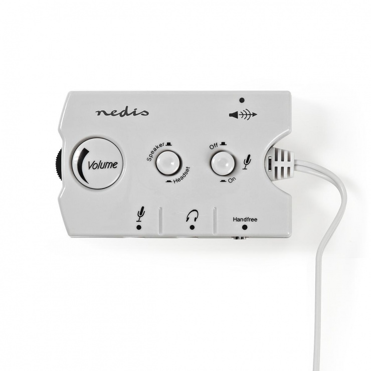 Imagine Switch audio jack 3.5mm, Nedis ASCR10020GY