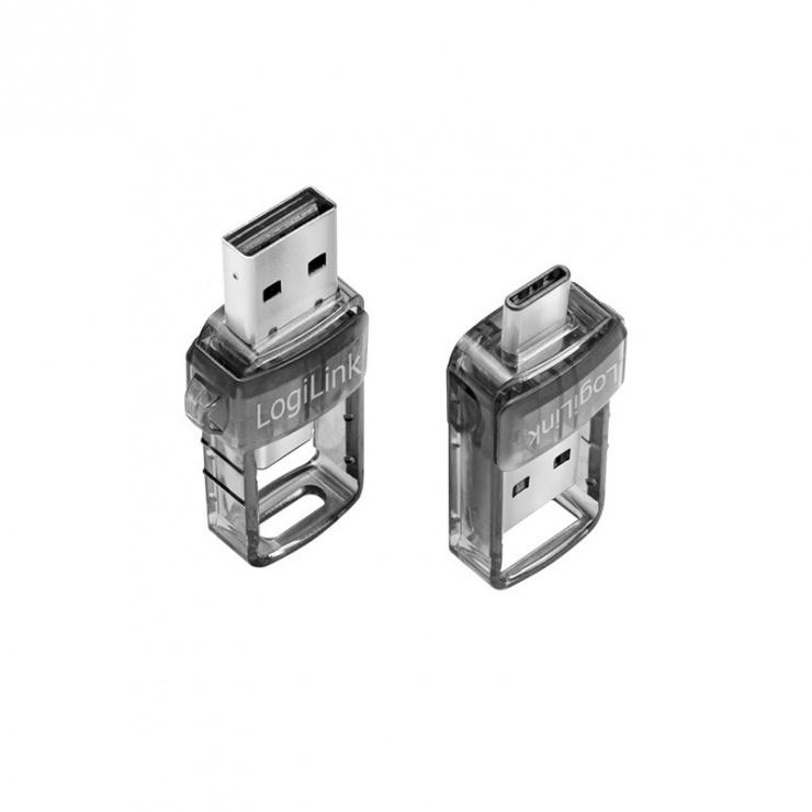 Imagine Adaptor USB Type-C/USB-A bluetooth v5.0, Logilink BT0054