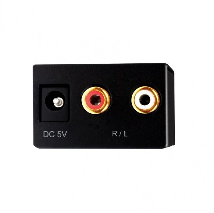 Imagine Convertor audio RCA Analog la Digital S/PDIF, Logilink CA0102