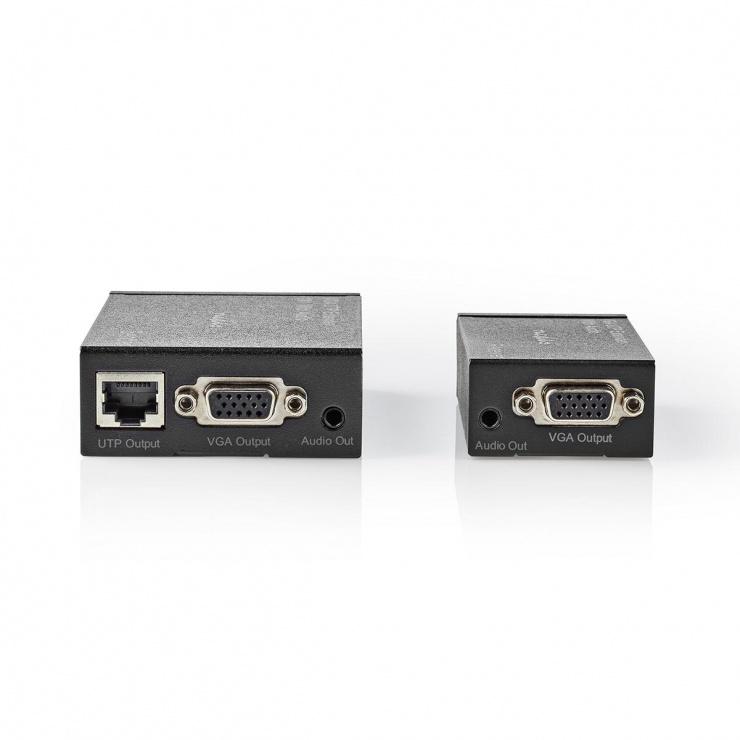 Imagine Extender VGA Cat 5e / Cat 6 max. 300m, CREP5930BK