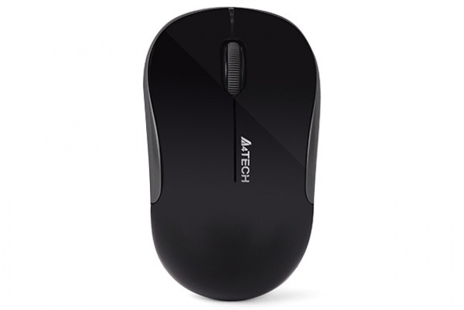 Imagine Mouse wireless optic A4Tech Negru, G3-300N-BK (include timbru verde 0.1 lei)