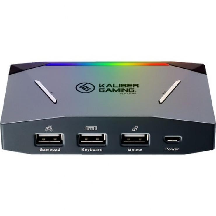 Imagine Controler Keymander 2 Keyboard/Mouse pentru console, ATEN GE1337P2
