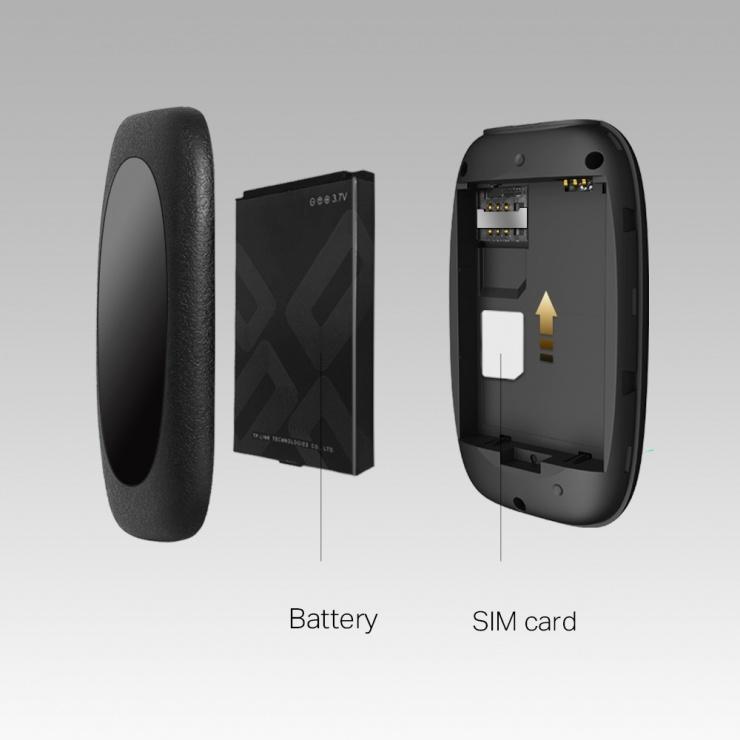 Imagine Router Wi-Fi mobil 4G LTE, TP-LINK M7000