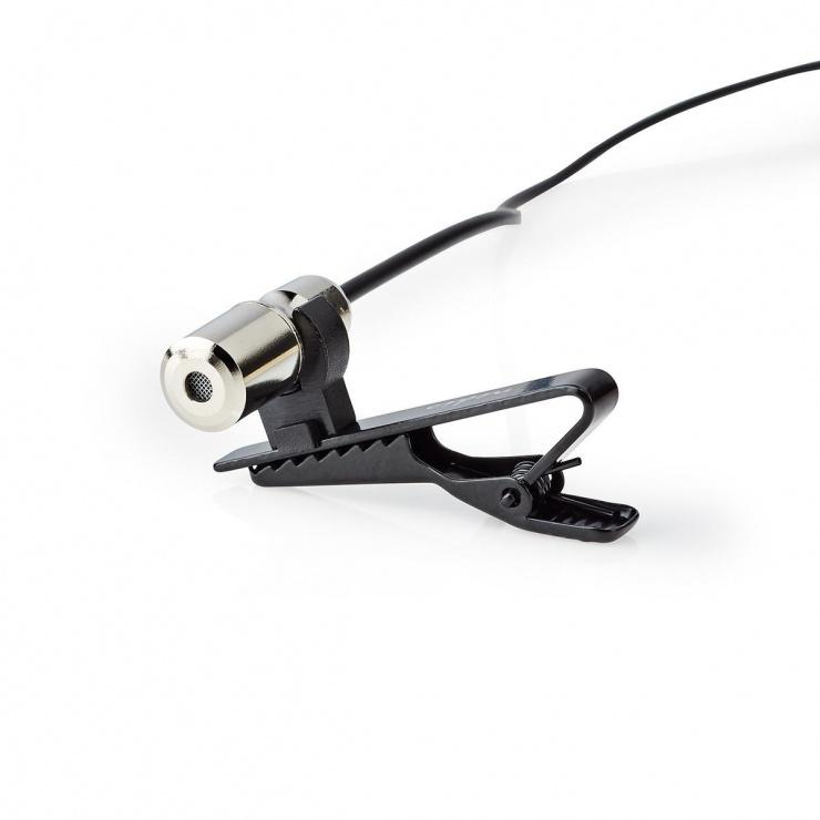 Imagine Microfon tip lavaliera, Nedis MICCJ105BK