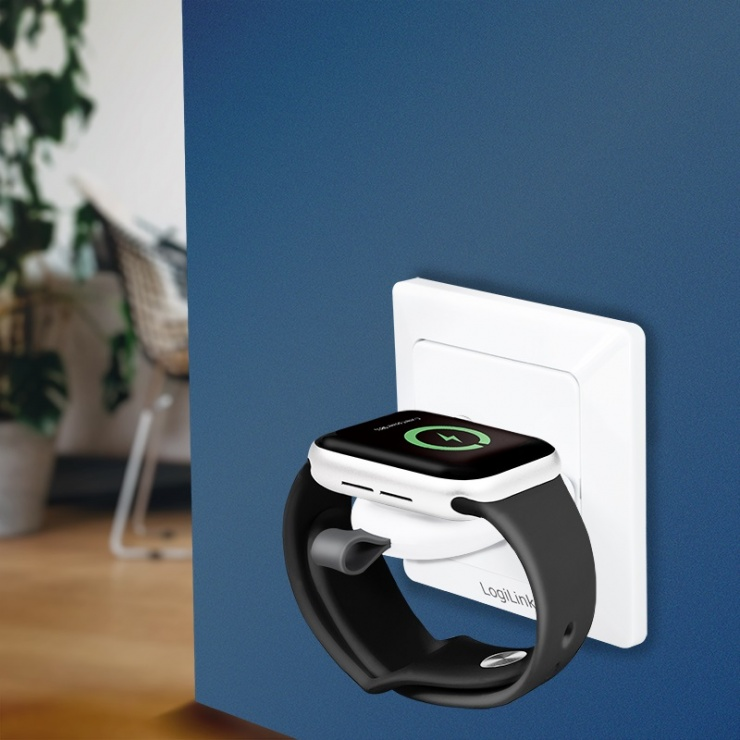 Imagine Incarcator Magnetic wireless pentru iWatch, Logilink PA0245
