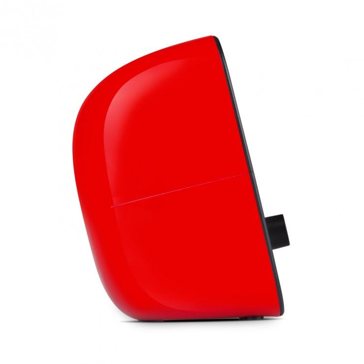 Imagine Boxe 2.0 bass reflex port USB Negru/Rosu, Edifier R12U-RD