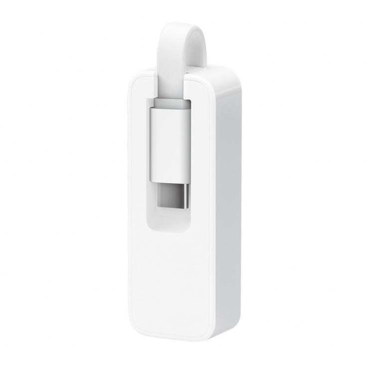 Imagine Adaptor USB-C la Gigabit LAN, TP-LINK UE300C