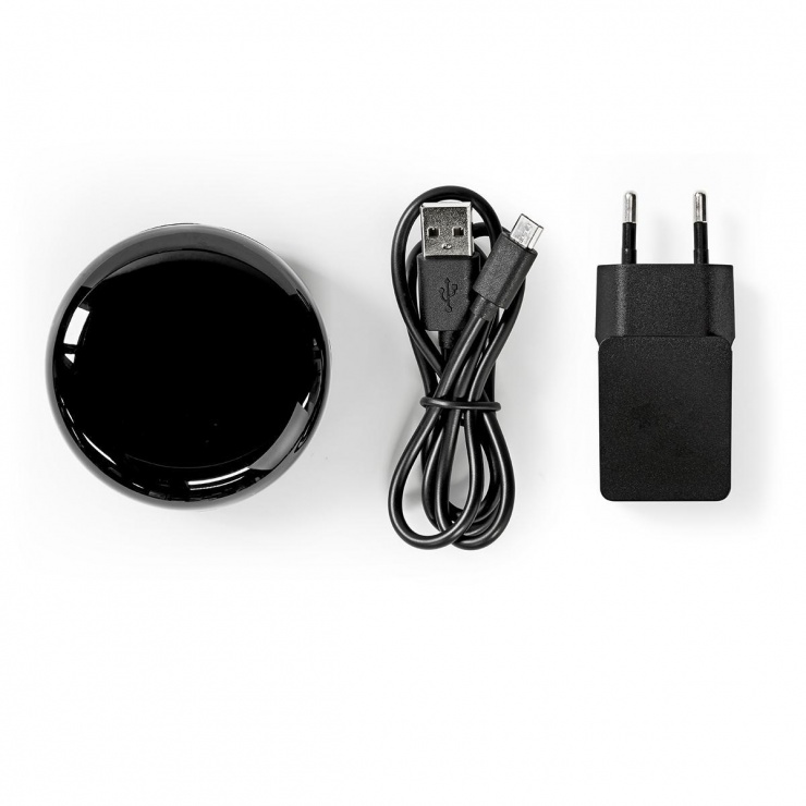 Imagine Telecomanda inteligenta Wi-fi Infrarosu, Nedis WIFIRC10CBK