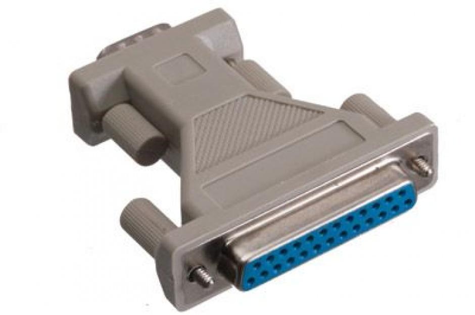 Imagine Adaptor DB25 pini la DB9 pini M-T, r29fm