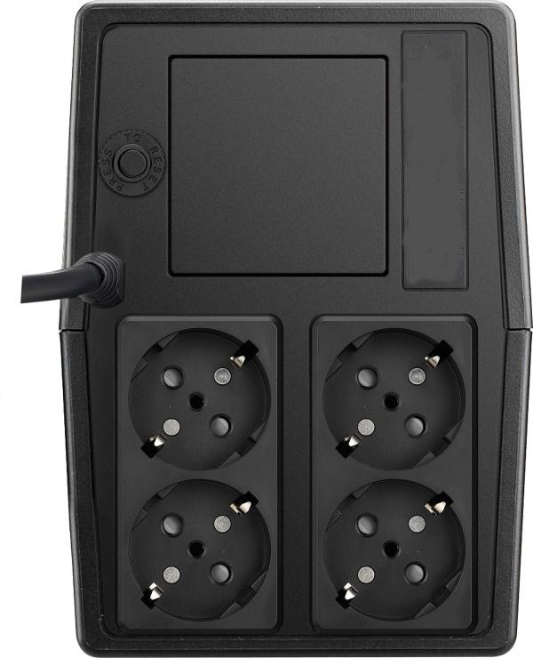 Imagine AVR MUSTEK 1000VA/ 500W PowerMate 1000, 1000-LED-AVR-T10