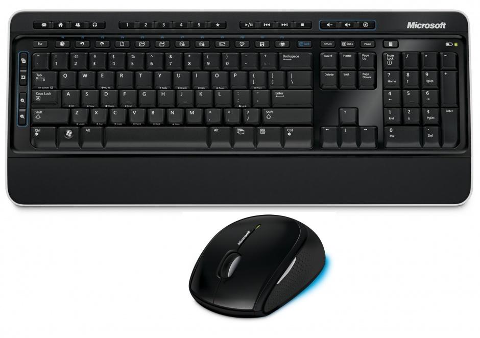 Imagine Kit tastatura + mouse Microsoft Wireless Desktop Media 2000, M7J-00015