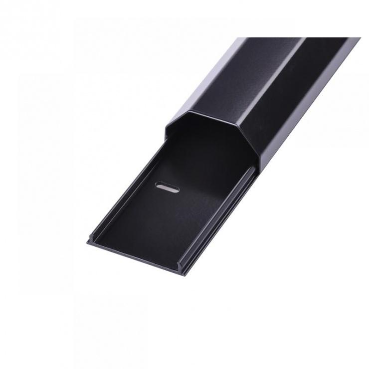 Imagine Canal cablu din aluminiu 5cm x 110cm Negru, UCH0078A