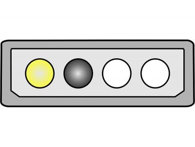 Imagine Cablu alimentare placa PCI Express 6 pini, Delock 82315 - 2