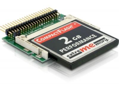 Imagine Card Reader IDE 44 pini T la Compact Flash, Delock 91655