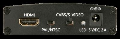 Imagine Convertor HDMI la S-Video/Composite Video & Audio, Lindy L38093-2