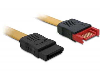 Imagine Cablu prelungitor SATA II 3 Gb/s date 100cm, Delock 82666