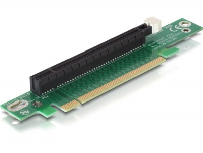 Imagine Riser card PCI Express x16 unghi 90 inserare stanga, Delock 89105