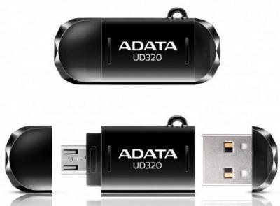 Imagine Stick USB 2.0 32GB ADATA UD320 On-The-Go Black