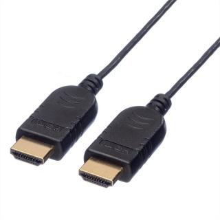 Cablu HDMI Slim cu Ethernet v1.4 1.2m, Roline 11.04.5632