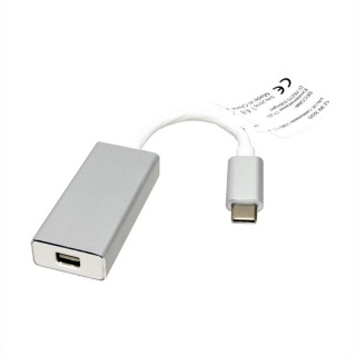 Adaptor USB 3.1 tip C la Mini Displayport T-M Alb, Value 12.99.3225