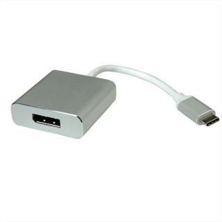 Adaptor USB 3.1 tip C la Displayport T-M Aluminiu, Roline 12.03.3220